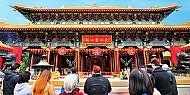 Chùa Wong Tai Sin - Tour Du Lịch hồng Kong