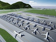 Khai trương phòng chờ trung chuyển hiện tại của sân bay quôc tế Hồng Kông
