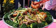 Món ăn tại làng quê - Tour du lịch hông Kong