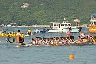 Tưng bừng Lễ hội Thuyền rồng ở Hong Kong