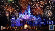 DisneyLand từ TP.HCM Dịp Tết Dương Lịch 2018