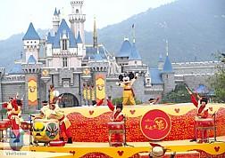 Disney Land - Hồng Kông Tháng 9