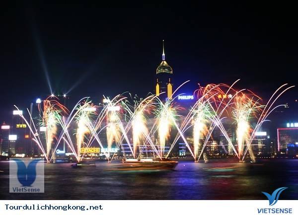 Bản giao hưởng ánh sáng Hồng Kông