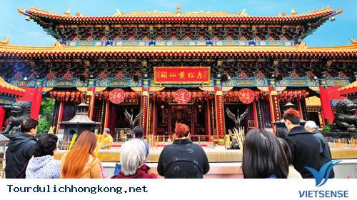 Chùa Wong Tai Sin - Tour Du Lịch hồng Kong,chua wong tai sin  tour du lich hong kong