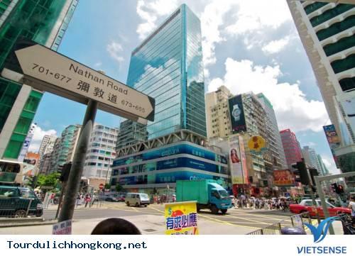 Phố Nathan Ở HongKong Nới Sopping Hàng Lưu Niệm