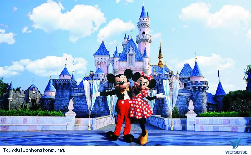 Du Lịch Hồng Kông 4 Ngày 3 Đêm: TP.HCM - HongKong - Disney Land