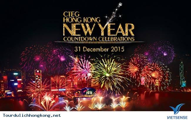 Hồng Kông tổ chức lễ đếm ngược chào đón năm mới 2015