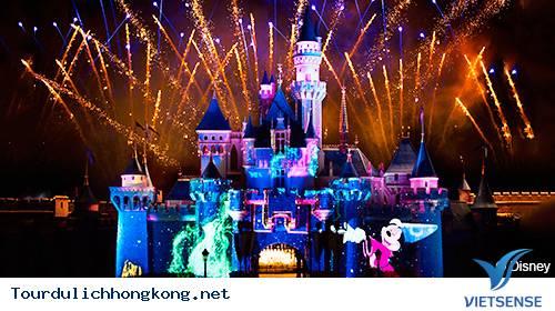 Khu vui chơi giải trí Disneyland - Tour Du Lịch hồng Kong,khu vui choi giai tri disneyland  tour du lich hong kong