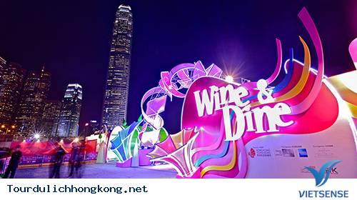 LỄ HỘI RƯỢU VANG VÀ ẨM THỰC TẠI HONG KONG