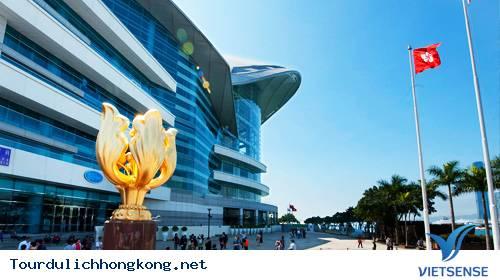 Quảng trường Bauhinia Vàng - Tour Du Lịch hồng Kong,quang truong bauhinia vang  tour du lich hong kong