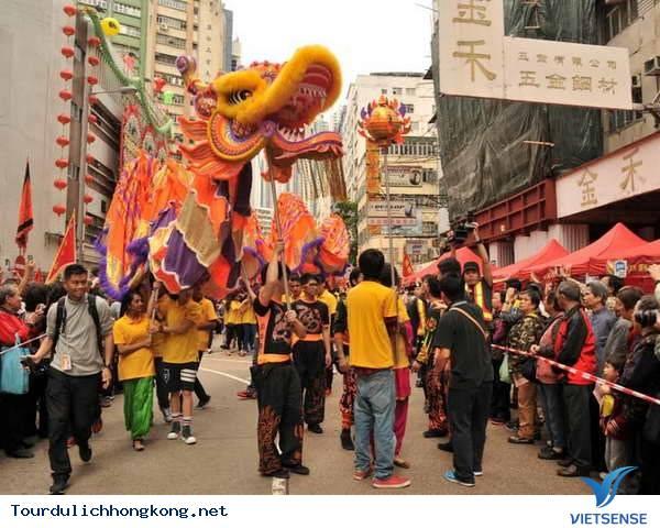 Rực rỡ Lễ hội đường phố Tai Kok Tsui ở Hong Kong