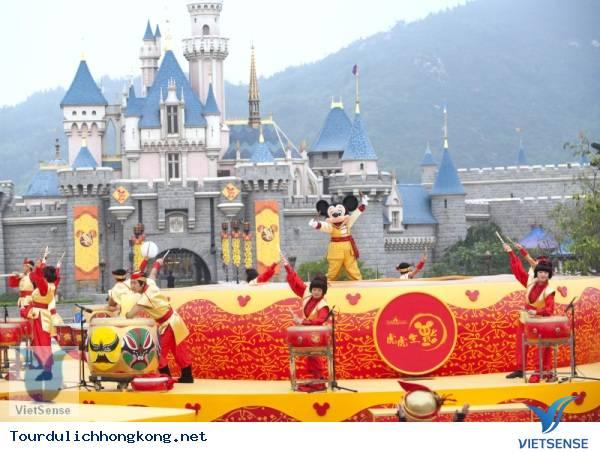 Tour Du lịch Hồng Kông - Disney Land Tháng 9 4 Ngày 3