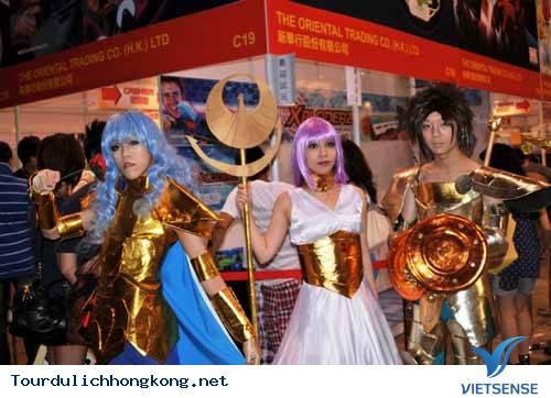 Từng bừng lễ hội Cosplay tại Hong Kong
