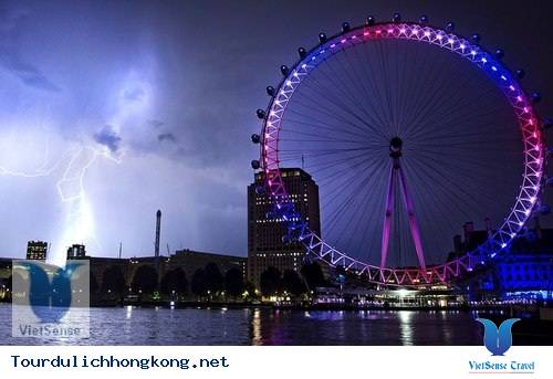 Vòng quay quan sát toàn cảnh Hồng Kông
